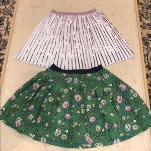 Girls Zara skirt set